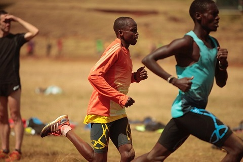 "Julius Arile, the subject of the popular documentary ""Gun Runners"" will chase a new personal best at the Toronto Waterfront Marathon on October 16th. Image via Canada Running Series."