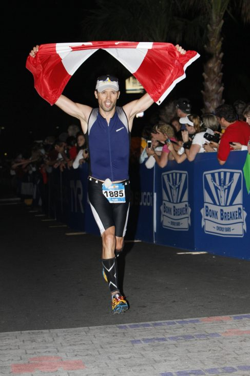 Kevin Rutherford Ironman Florida Finish