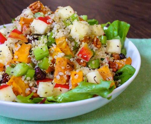 Roasted Sweet Potato Quinoa Salad 2
