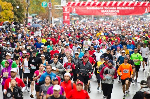 Scotiabank Toronto Waterfront Marathon 2012