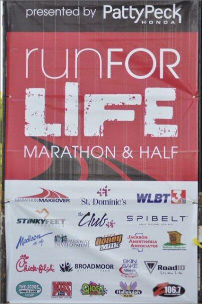 Run For Life Marathon