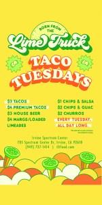 AD - Lime Truck - Taco Tuesdays