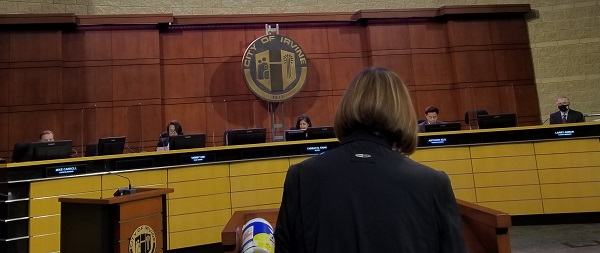 Irvine City Council Hears Nearly 3 Hours of Testimony from Residents in North Irvine Voicing Their Health Concerns Over Toxic Emissions from All American Asphalt Plant
