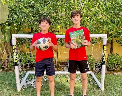 Twin Brothers from Crean High School Start New Tutoring Project Combining Passion for Sports and Teaching