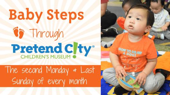 March Baby Steps Through Pretend City