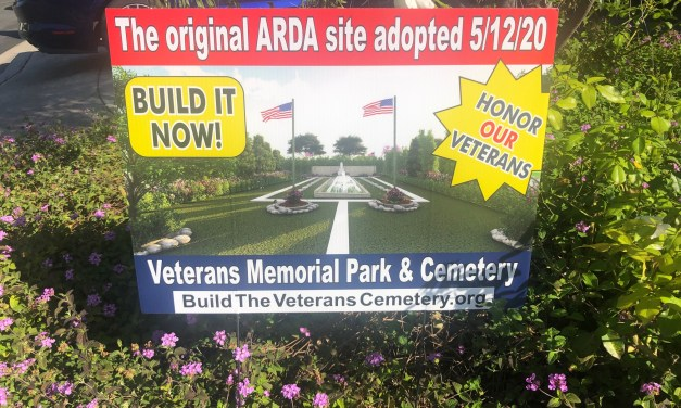 """Checking in with Ed Pope, Chair of the """"Build the Great Park Veterans Cemetery"""" Committee"""