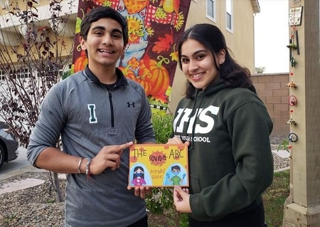 Irvine High School Students Write COVID-19 Book