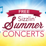 July & August:  Free Outdoor Concerts at Mike Ward Community Park