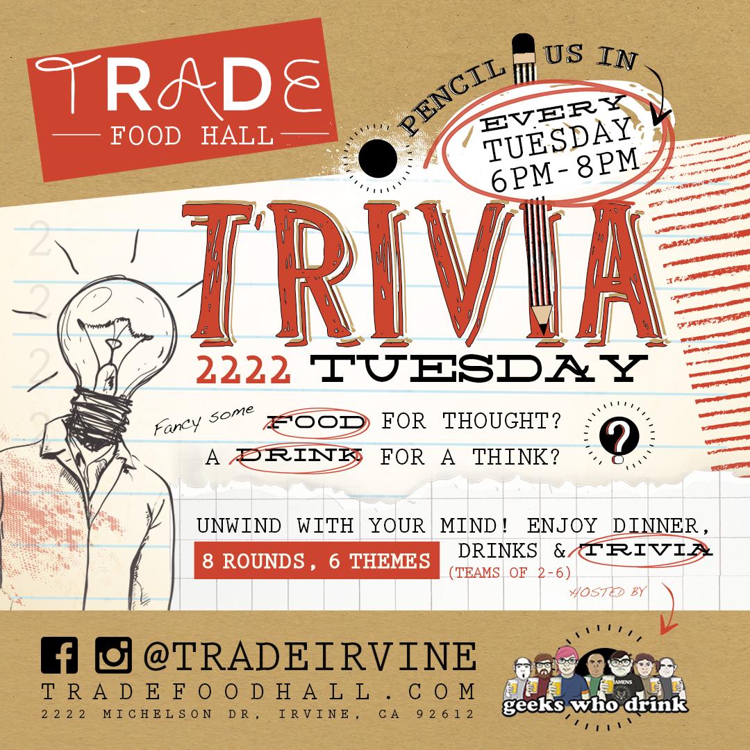 Trivia Night at Trade Food Hall