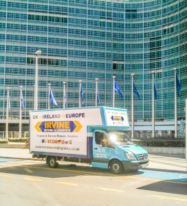 professional home and office removals - moving offices to brussels
