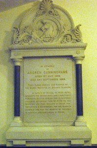 Memorial  Cunningham