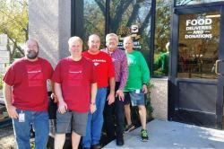 Bank of America volunteers on 120815