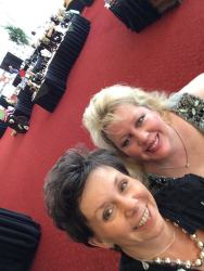 Cydney Robets and Teddie Story at The Great Harvest 2015