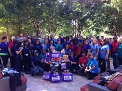 FedEx Cares Group Photo