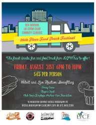 Classic Food Truck Festival 8/21/15, 6-10 pm, $45 per person
