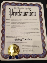 Giving Tuesday Proclamation