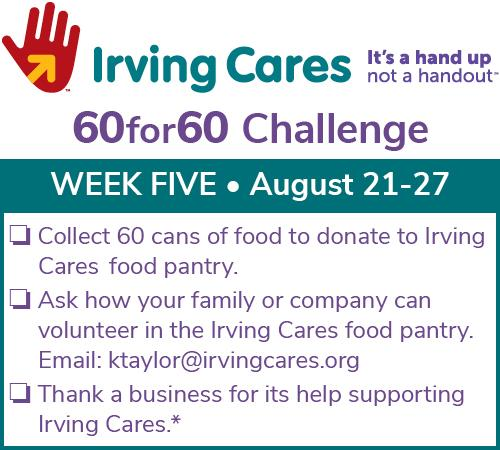 Can you collect 60 Cans for Week Five of the 60 for 60 Challenge?