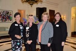 Teddie Story attends Blue Foundation Event