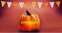 #givingday - halloween pumpkin