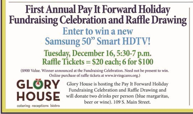 Pay It Forward Celebration Details