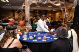 Hogs and Hearts Casino Night 2016 Blackjack game