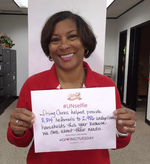 Case Manager Beverly #GivingTuesday #Unselfie