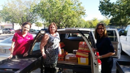 PPAI food drive delivery 111616