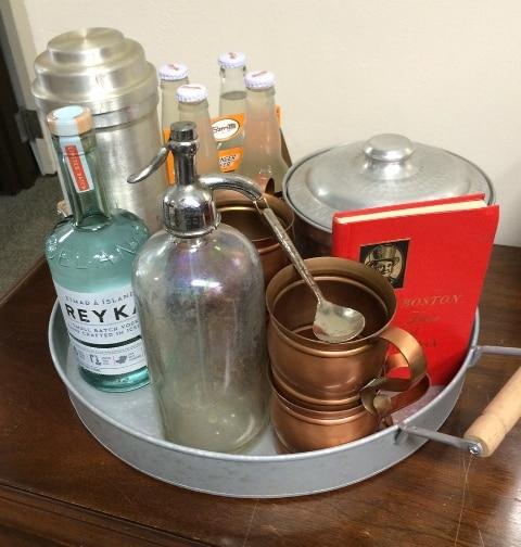 Vintage Barware Set