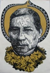 luto de juarez xilografia 112cm x 76 2014