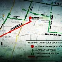 Marchas y concentraciones para hoy martes 20 de agosto en la CDMX