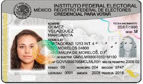 credencial de elector