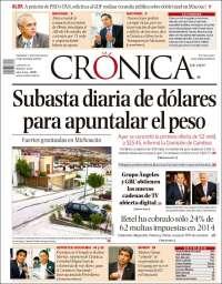 CRONICA 12 MARZO
