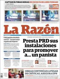 LA RAZON 29 MAR