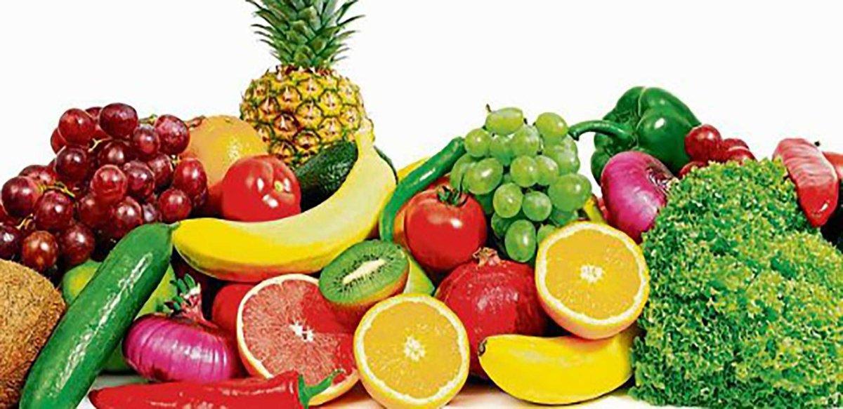 Dieta multicolor garantiza aporte variado de nutrientes al organismo