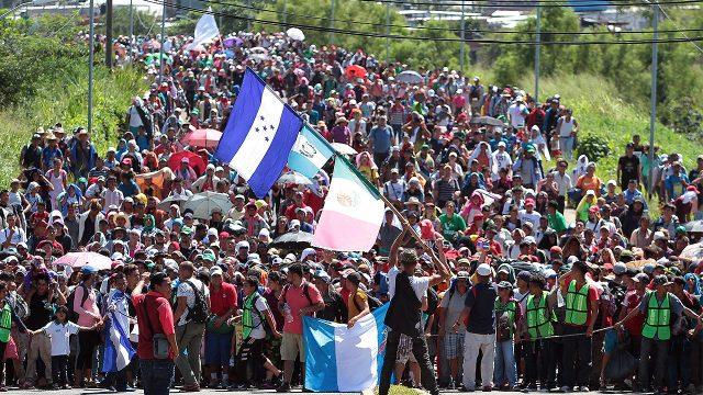 caravana migrante para poertada