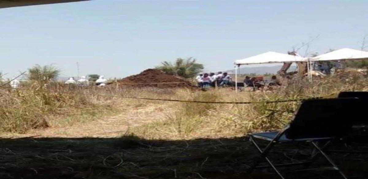 Suman 11 cuerpos hallados en fosa clandestina de Xalisco, Nayarit