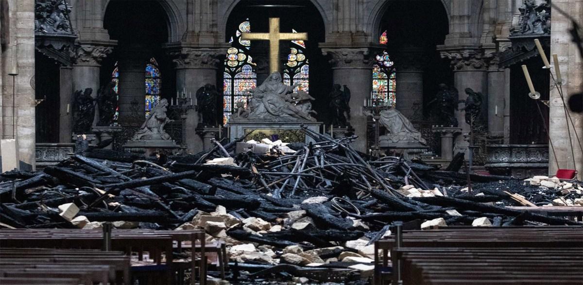 Notre-Dame podría permanecer cerrada hasta 6 años