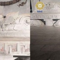 Detienen a joven que descabezó águila del Hemiciclo a Juárez