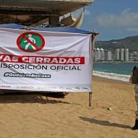Desalojan a turistas de playas de Acapulco #QuédateEnCasa #Covid19México