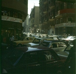 aegypten-highlights-kairo rushhour 1978