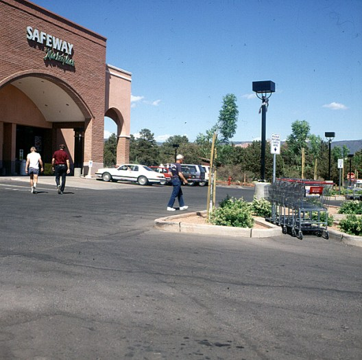 Supermarkt in Arizona 1983