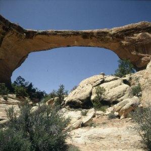 Naturbrücken in Utah 1983