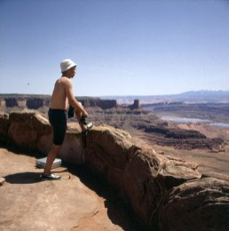 Lars am Dead Horse Point 1986