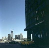 chicago-prominenter wohnblock am harbordrive