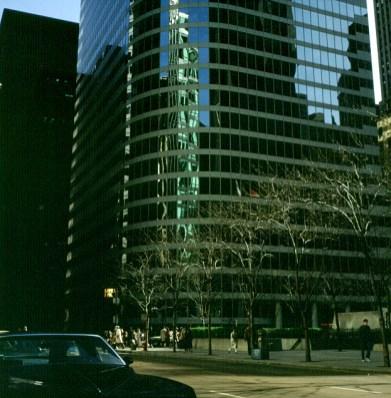 chicago-zentrum Anfang Mai
