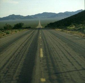 Zufahrt zum Death-Valley