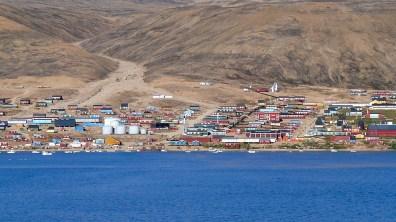 groenland-Dorf mit allen Einrichtungen 2007