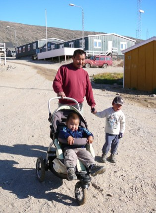 groenland-Familienausflug 2007