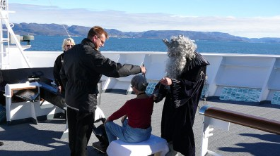 Grönland-Neptuntaufe mit Eiswasser 2007