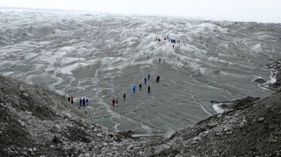 Grönland Fußmarsch zum Inlandeis 2007